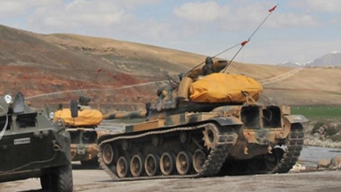 Tank Taburuna Ateş Açıldı. 1 Asker Yaralı