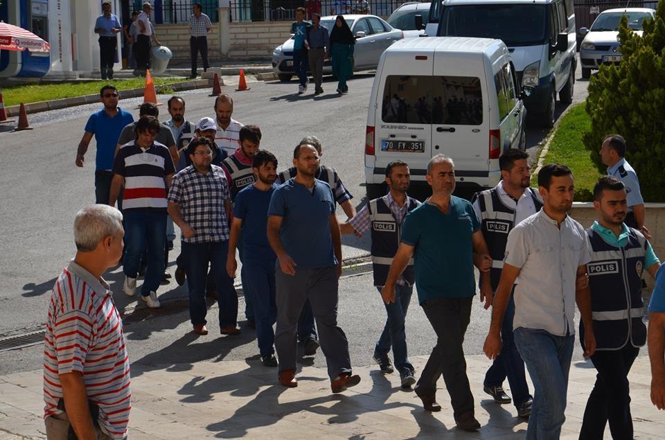 Karaman'da 5 Gözaltı