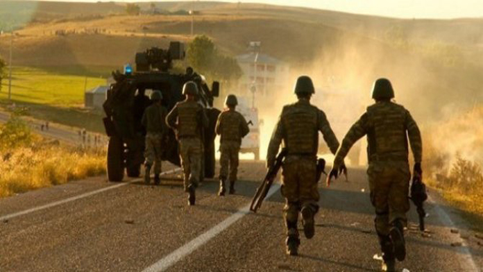 Hizan'da Roketli Saldırı, 1 Şehit.