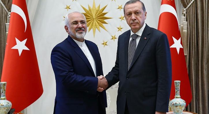 İran Dışişleri Bakanı Cumhurbaşkanı ile Görüştü