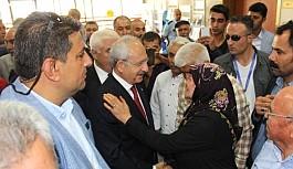 Kemal Kılıçdaroğlu  Gaziantep'teki Patlama Alanında İnceleme Yapıyor