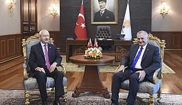 Başbakan ve Kılıçdaroğlu bir arada