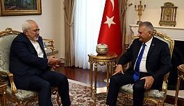 Başbakan Yıldırım, İran Dışişleri Bakanı Zarif'i kabul etti