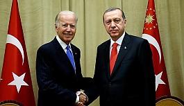 Erdoğan ve Biden bir araya geldi