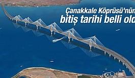İşte Çanakkale Köprüsü'nün Güzergahı!
