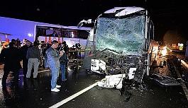 Karabük'te 2 yolcu otobüsü çarpıştı: 68 yaralı