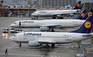 Almanya'da uçuşlar iptal