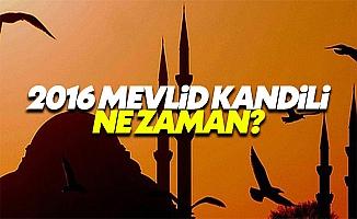 2016 Mevlid Kandili ne zaman ve neler yapılır