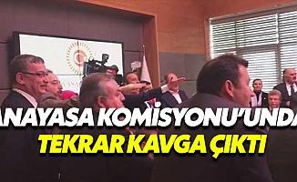 Anayasa Komisyonu'nda Yine Kavga Çıktı!