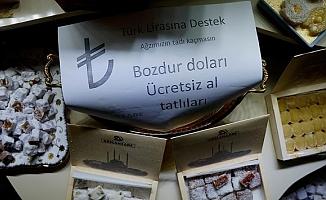 Edirne Esnafından Türk Lirası'na Tam Destek!