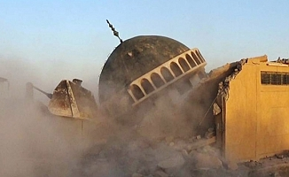 Eli kanlı DEAŞ Musul'da 104 cami yıktı