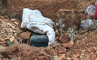 Şanlıurfa'da 50 kilogram el yapımı patlayıcı ele geçirildi