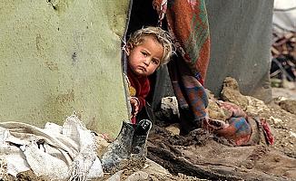 Savaştan kaçan Suriye'li siviller yaşam mücadelesi veriyor