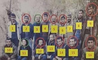 Sözde üst düzey terörist yetkililerinden 9'u öldürüldü