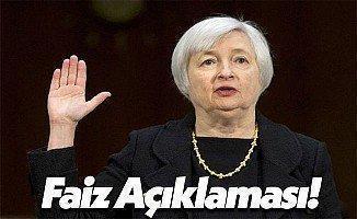 ABD Merkez Bankası (Fed) Başkanı Janet Yellen'den Beklenmeyen Açıklama!