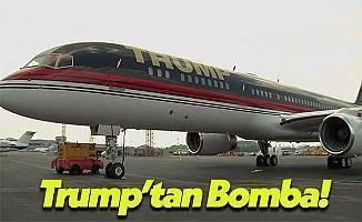 ABD'nin 45. Başkanı Donald Trump Kendi Uçağını Kullanacak!