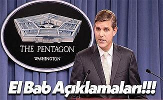ABD Savunma Bakanlığı'ndan El Bab Hakkında Açıklama!