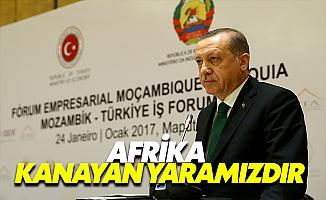 Erdoğan, Mozambik'ten Seslendi
