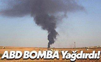 Amerika Birleşik Devletleri El-Bab'a Bomba Yağdırdı!