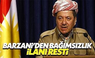 """Barzani: """"Bağımsızlık İlan Edeceğim"""""""