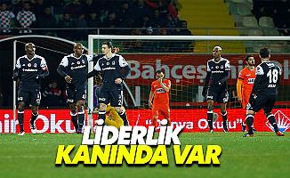 Beşiktaş, Alanya'dan Lider Döndü