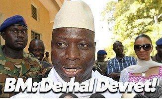 Birleşmiş Birleşmiş Milletler Güvenlik Konseyi Gambiya İçin Uyardı!