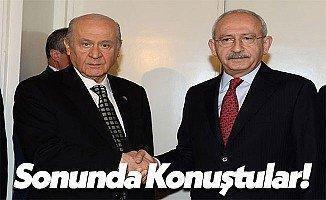 CHP Genel Başkanı Kemal Kılıçdaroğlu ve MHP Genel Başkanı Devlet Bahçeli Görüşmesi Tamamlandı!