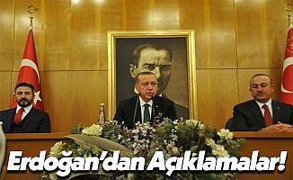 Cumhurbaşkanı Recep Tayyip Erdoğan Açıklama Yaptı!