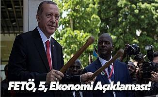 Cumhurbaşkanı Recep Tayyip Erdoğan'dan Afrika'da Açıklamalar!