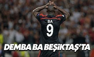 Demba Ba Beşiktaş'a mı transfer oluyor son dakika