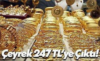 Ekonomide Son Zam Altını Vurdu: Çeyrek 247, Cumhuriyet 1010 TL!