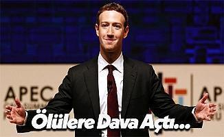 Facebook CEO'su Mark Zuckerberg Ölülere Karşı Dava Açtı!