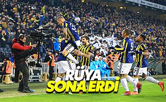 Fenerbahçe, Başakşehir'i Rüyasından Uyandırdı