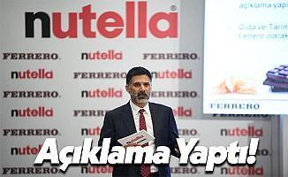 Ferrero Türkiye Genel Müdürü Azmi Gümüşlüoğlu: En Kaliteli Palm Yağını Kullanıyoruz!