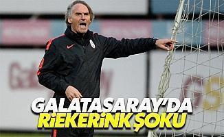 Galatasaray son dakika Riekerink istifa edecek mi