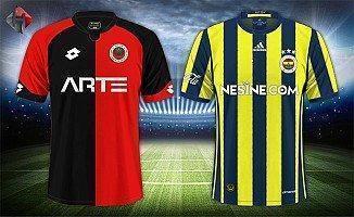 Gençlerbirliği Fenerbahçe 2-2 Türkiye Kupası Maçı Geniş Özet