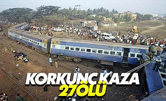 Hindistan'da Korkunç Kaza: 27 Kişi Öldü