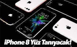 iPhone 8 Modelleri Yüz Tanıma Özelliğine Sahip Olacak!