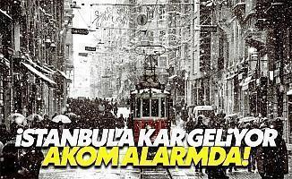 İstanbul'a ne zaman kar yağacak 25 Ocak Çarşamba hava durumu son dakika