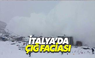 İtalya'da Çığ Düştü: 30 Ölü