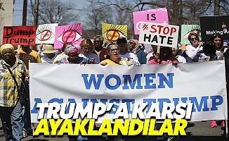 Kadınlar Trump'a Karşı Ayaklandı