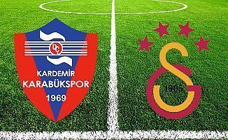 Karabükspor Galatasaray maçı şifresiz BEIN SPORTS canlı maç yayını