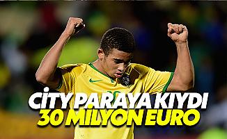 Manchester City'ye 30 Milyon Euro'ya Brezilyalı Yetenek