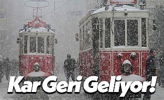 Meteoroloji Genel Müdürlüğü İstanbul İçin Kar Tarihini Açıkladı!