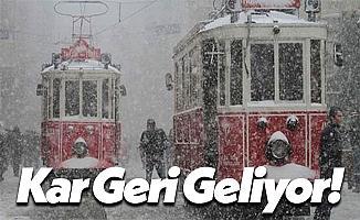 Meteoroloji Genel Müdürlüğü İstanbul İçin Kar Tarihini Açıkladı!
