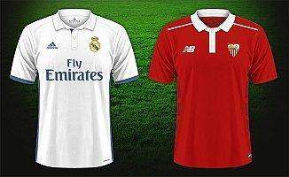 Real Madrid Sevilla maçı ne zaman saat kaçta hangi kanalda