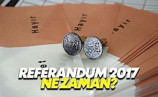 Referandum 2017 ne zaman? Referandum nedir nasıl yapılır?