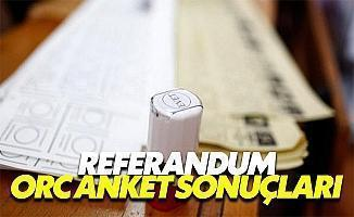 Referandum 2017 ORC anket sonuçları evet mi hayır mı