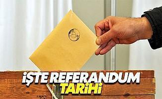 Referandum ne zaman yapılacak? Türk tipi başkanlık sistemi nedir?