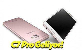 Samsung Galaxy C7 Pro Modeli Duyuruldu!